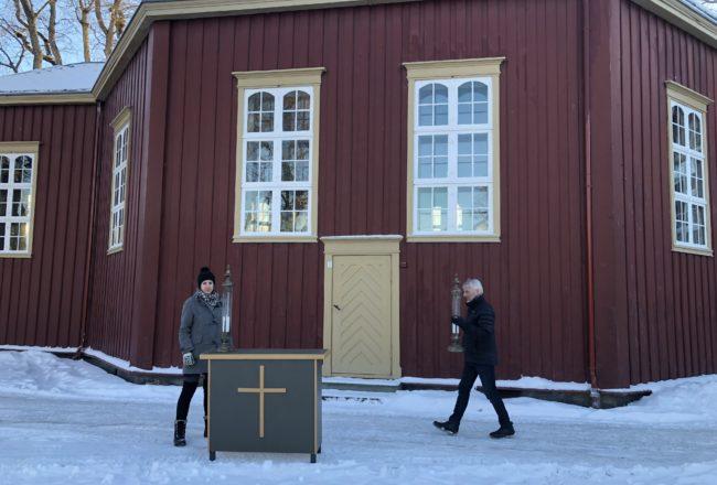 Mari Kristine Brækken og Torstein Amundsen
